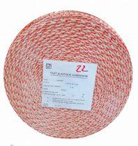 Filet mailles rouge Pqt 50m