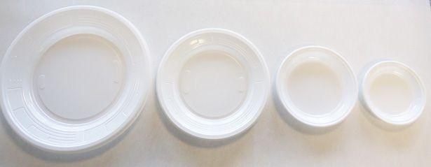 assiette plastique ronde blanche 10 12 17 et 22 cm p100. Black Bedroom Furniture Sets. Home Design Ideas