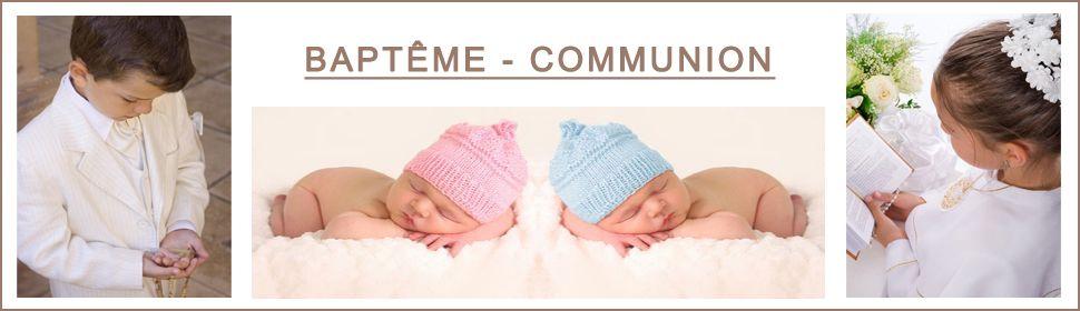 Bébés Baptême et enfants communion