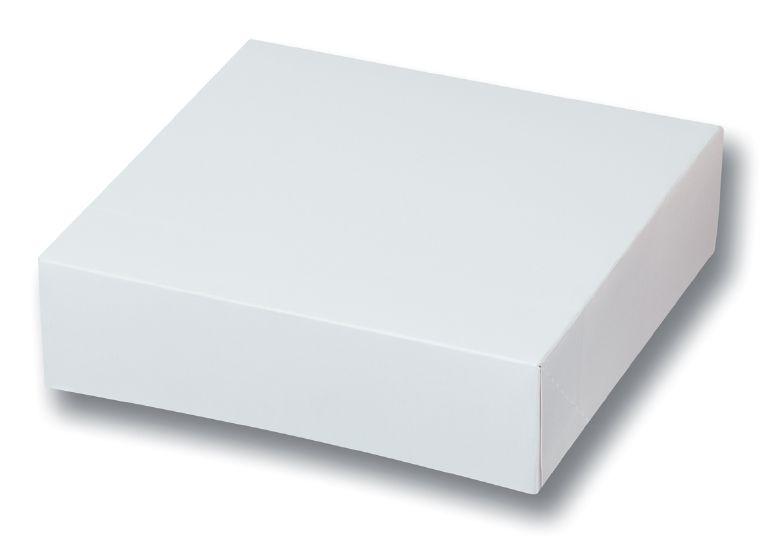 Boite pâtissière blanche p50