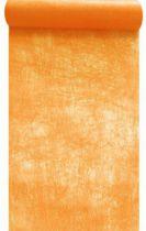 Chemin de table intissé abricot 30cm x 10m