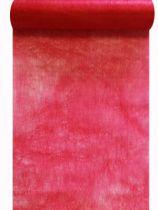 Chemin de table intissé framboise 30cm x 10m