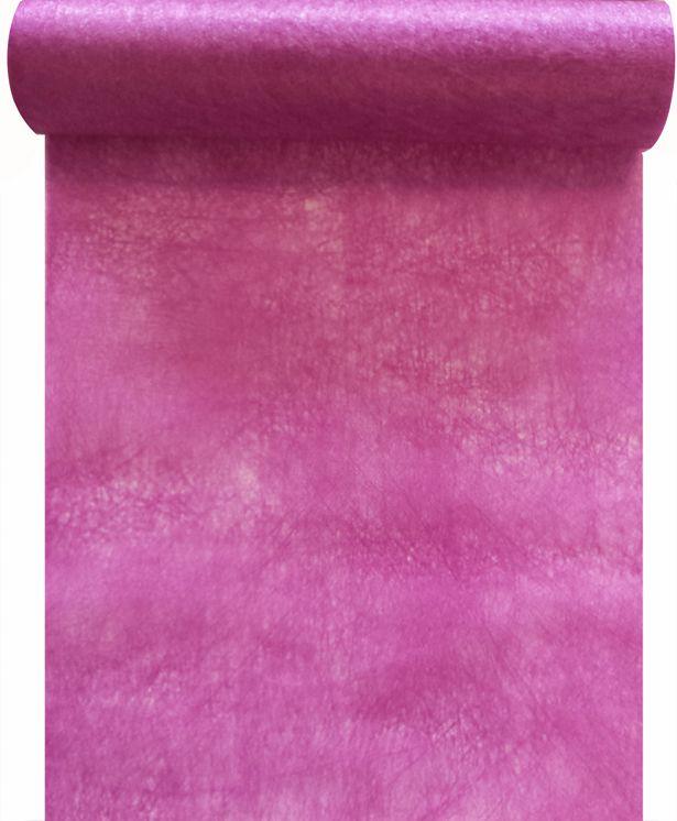 Chemin de table intissé lilas 30cm x 10m