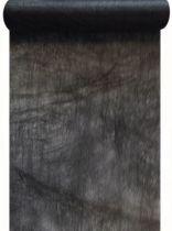 Chemin de table intissé noir 30cm/10m