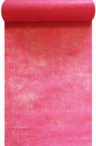 Chemin de table intissé rose indien 30cm x 10m