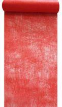 Chemin de table intissé rouge 30cm x 10m