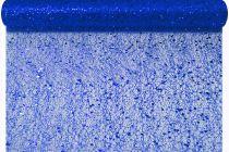 Chemin de table Tisséo New pailleté bleu nuit 30 cm x 5m