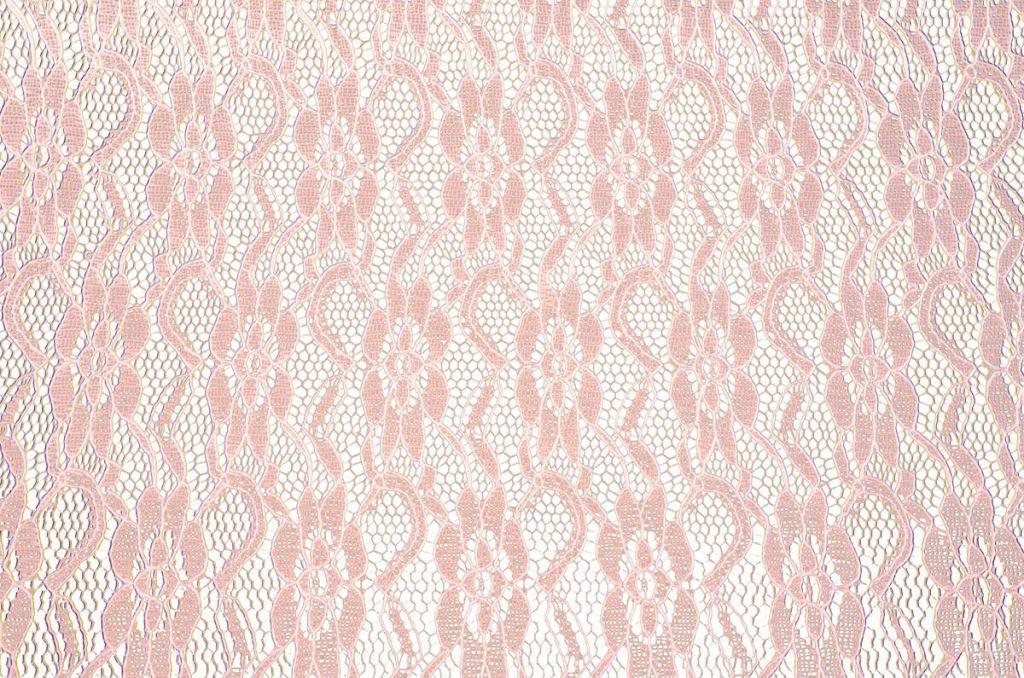 Chemin table dentelle rose  30cm x 5m