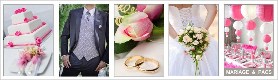 Décoration de mariage et pacs