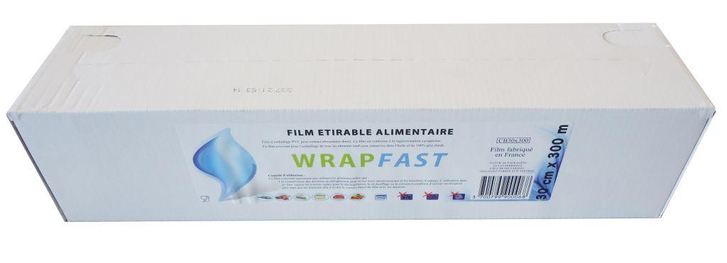Film boite carton 30cm 300m
