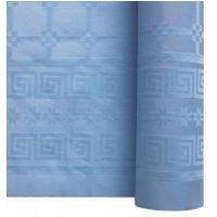 Nappe papier damassé bleu ciel 1.20/25m
