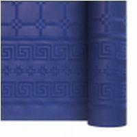 Nappe papier damassé bleu marine 1.20/25m