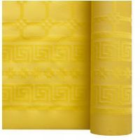 nappe papier damass jaune citron x 25m. Black Bedroom Furniture Sets. Home Design Ideas