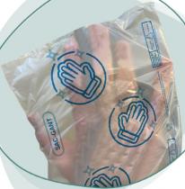 Sac-gant en rouleau c3000