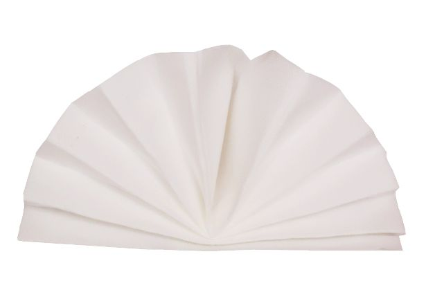 Serviette céli-ouate blanche 38 x 38 cm Pqt 50
