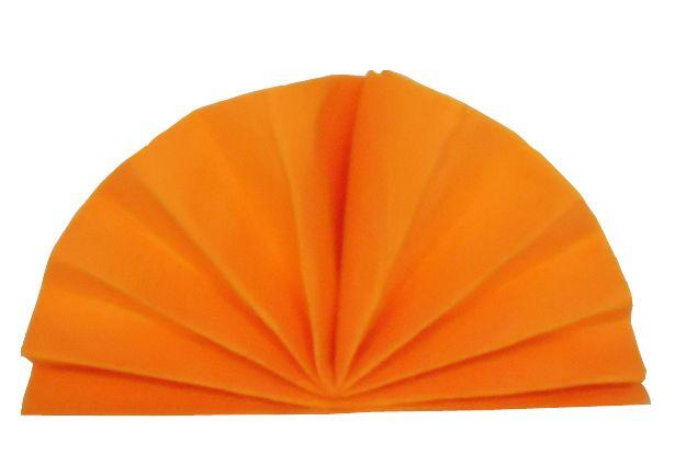 Serviette céli-ouate mandarine 38 x 38 cm Pqt 50