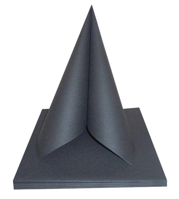 Serviette non tissée Célisoft titane 40 x 40 cm Paquet de 50