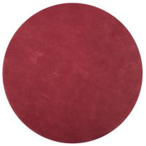 Set de table rond bordeaux 34 cm Pqt de 50