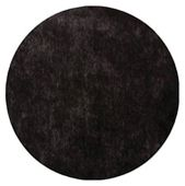 Set de table rond noir 34 cm Pqt de 50